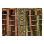 Oliver Tractor Grill Card