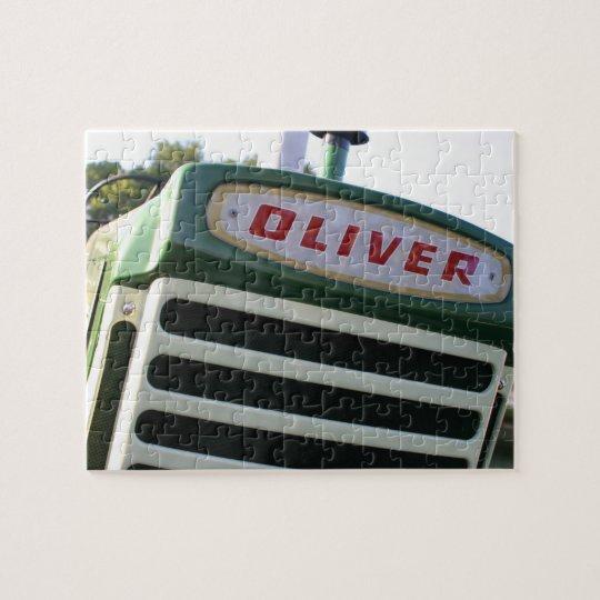 Oliver tractor puzzle unique gift ideas