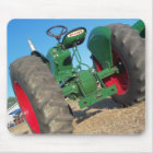 Oliver tractor vintage style used for pulling mouse mat
