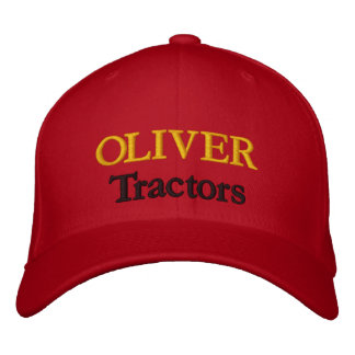 Oliver Tractors Lawnmowers Mowers Husky Design Embroidered Hat