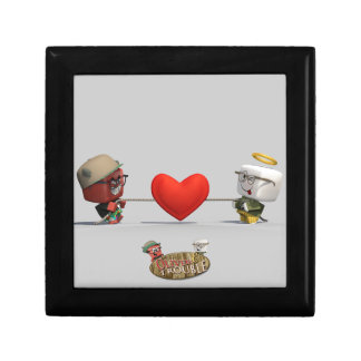 Oliver & Trouble Tugging Heartstrings Small Square Gift Box