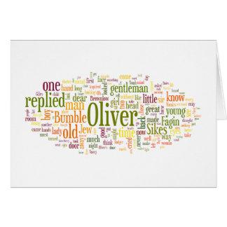 Oliver Twist Card