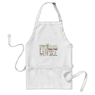 Oliver Twist Characters Apron