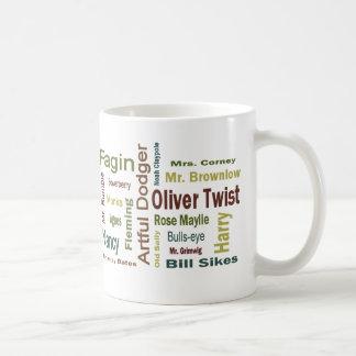 Oliver Twist Characters Basic White Mug