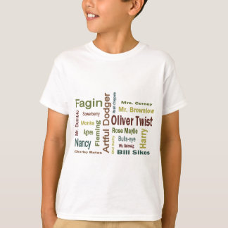 Oliver Twist Characters T-Shirt