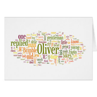 Oliver Twist Greeting Card