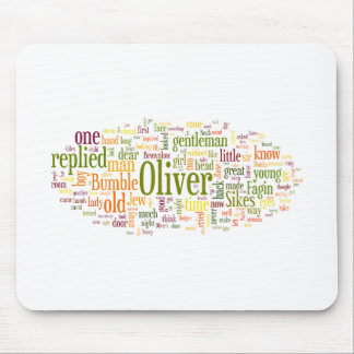 Oliver Twist Mouse Pad