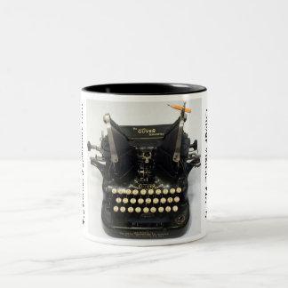 Oliver Visible No. 5 typewriter Two-Tone Mug