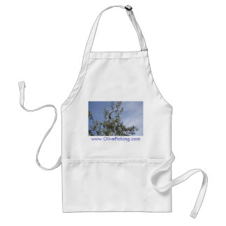 Olives Against A Blue Sky Standard Apron