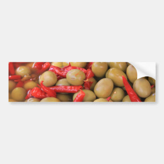 Olives and Chillies Bumper Stickers