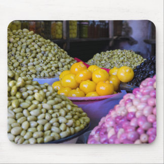 Olives And Lemon At Market Mouse Mat