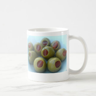 Olives Basic White Mug