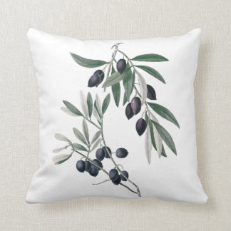 Olives botanical cushion