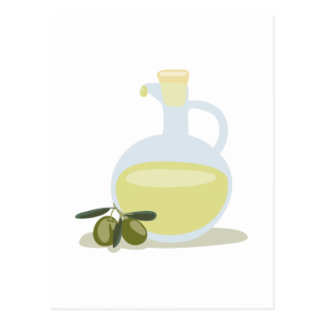 Olives & Oil Postcard