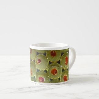 Olives on Large Espresso Mug