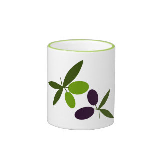Olives Ringer Mug