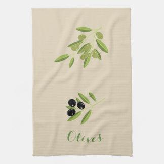Olives Tea Towel