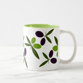 Olives Two-Tone Mug