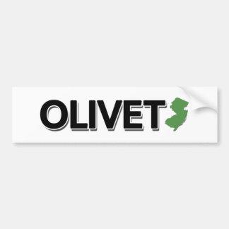 Olivet New Jersey Bumper Sticker