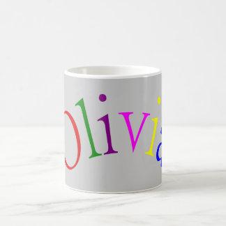 Olivia Basic White Mug