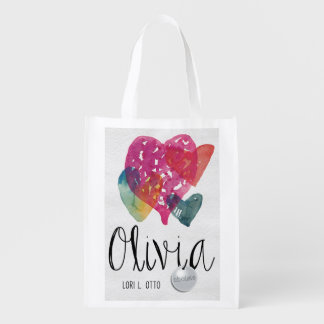 Olivia book cover Reusable Grocery Bag