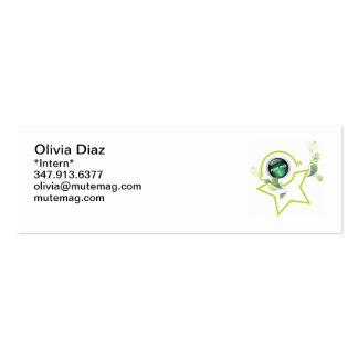 Olivia Business Card