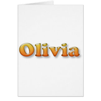 olivia cards