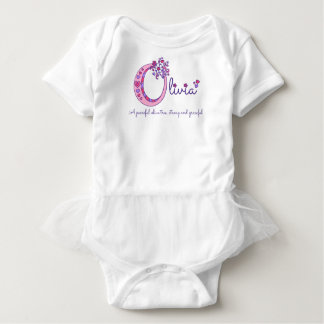 Olivia girls name meaning O monogram shirt