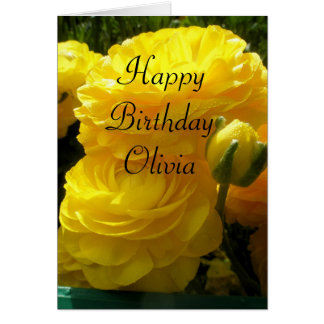 Olivia Greeting Card
