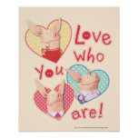 Olivia - Love Who You Are Print