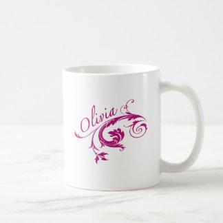 Olivia Coffee Mugs