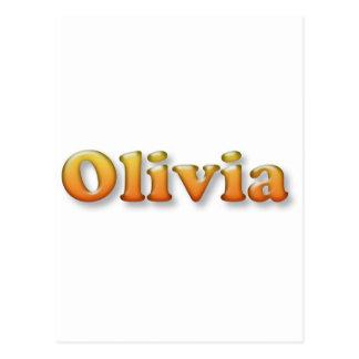 olivia post cards