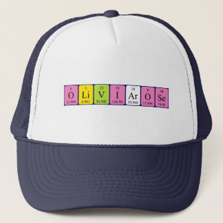 Olivia-Rose periodic table name hat