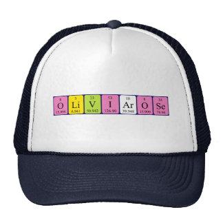 Olivia-Rose periodic table name hat