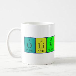 The name olivia mugs coffee mugs cups zazzle uk olivia rose periodic table name mug urtaz Image collections