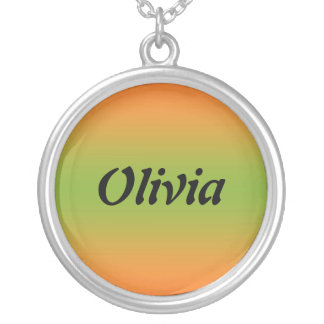 Olivia Silver Plated Necklace