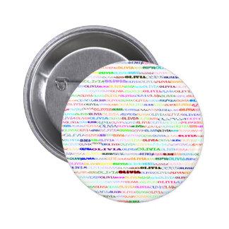Olivia Text Design II Round Button