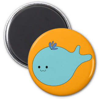 Olivia the Whale Refrigerator Magnets