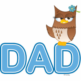 Olivia VonHoot Cartoon Character for Dad - Photo Cut Out