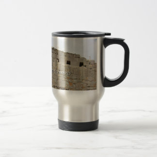 Ollantaytambo Lost Alien Technology Travel Mug