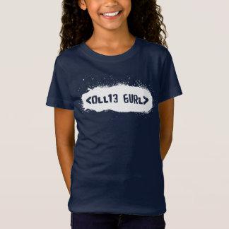 Ollie Gurl Leet (White) T-Shirt