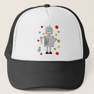 Ollie The Robot Trucker Hat