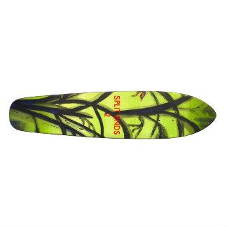 Ollie with SPLIT ENDS 2 21.6 Cm Old School Skateboard Deck