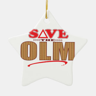 Olm Save Christmas Ornament