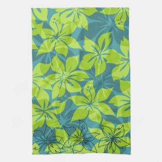 Olowalu Hibiscus Hawaiian Kitchen Towel