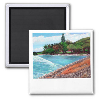 Olowalu Plantation Save the Date custom magnet