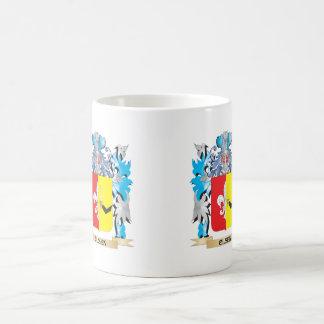 Olsen Coat of Arms - Family Crest Basic White Mug