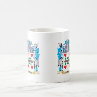 Olsen Coat of Arms - Family Crest Classic White Coffee Mug