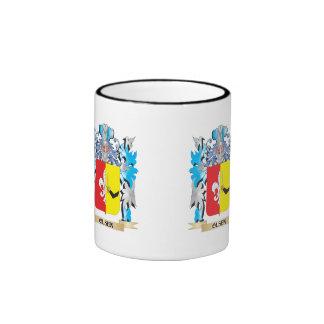 Olsen Coat of Arms - Family Crest Ringer Coffee Mug