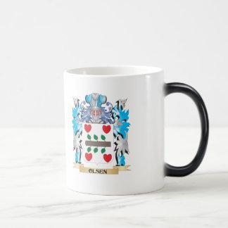 Olsen Coat of Arms - Family Crest Morphing Mug